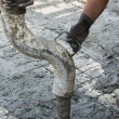 Working with concrete — Stock Photo #60444961