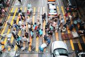 Rush Hour in Hong Kong — Stock Photo