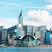 Hong Kong Harbour — Stock Photo