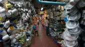 Warorot Pazar Chiangmai iç malzeme — Stok fotoğraf