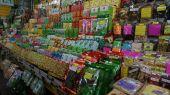 Inside Warorot Market Chiangmai Thailand — Stock Photo