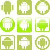 Android — Stock Vector