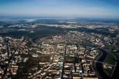 Vilnius - aerial view — Stok fotoğraf