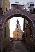 St. Bartholomew Church in Uzupis — Stock Photo