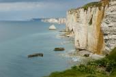 Scogliera in Normandia — Foto Stock