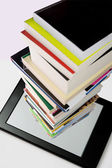 Portability of books  — Stock Photo