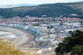 Coastal Norh Wales Landscape — Stock Photo