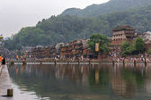 Tuojiang River in Fenghuang, China — Stock Photo