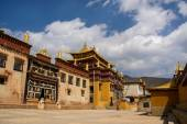 Songzanlin Lamasery of Yunnan — Stock Photo