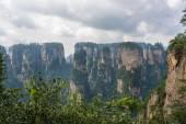 Stunning landscape, Zhangjiajie China — Stock Photo