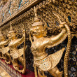 Golden Garuda of Wat Phra Kaew at Bangkok, thailand — Stock Photo #58514801