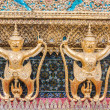 Golden Garuda of Wat Phra Kaew at Bangkok, thailand — Stock Photo #58515429