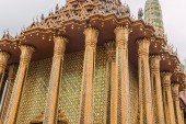 Wat Phra Kaew, Temple of the Emerald Buddha, Bangkok, Thailand — Stock Photo