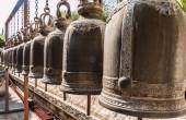 Thailand, Bangkok, Phananchoeng Worawihan Temple, old religious — Stock Photo