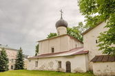 Pskov, Russia. New Ascension Church — Stock Photo