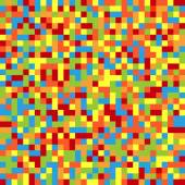 Colorful pixelated background — Stock Vector