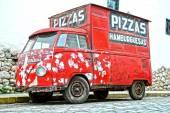 Pizza Truck — Stock Photo