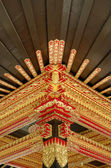 Ceiling with beautiful ornament in Yogyakarta Sultanate Palace — Stock Photo