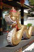 Dragon decoration in Yogyakarta Sultanate Palace — Stock Photo