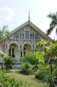 Gedhong purworetno, the beautiful pavilion at puro pakualaman palace complex, yogyakarta — Photo