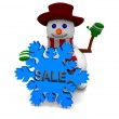 Snowman sale — Stock Photo #55980451