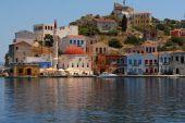 Kastellorizo-Megisti Greece — Stockfoto