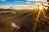 Mount Hood from Jonsrud viewpoint. — Stock Photo