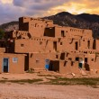 Adobe Houses in the Pueblo of Taos, New Mexico, USA. — Stock Photo #55454357