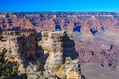 Tourist visit the Grand Canyon — Stock Photo