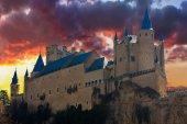 Alcazar in Segovia, Spain — Stock Photo