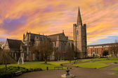 St. Patrick's Cathedral in Dublin, Ireland. — Stock Photo