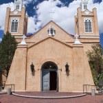 Church of San Felipe in Albuquerque, New Mexico. — Stock Photo #55736537