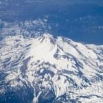 Bird's Eye view of Mt. Hood in Oregon, USA. — Stock Photo #55737545