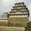 Majestic Castle of Himeji in Japan. — Stock Photo #55737571