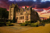 Sunset Picture of Belfast Castle in Northern Ireland. — Stock Photo