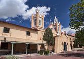 Church of San Felipe in Albuquerque, New Mexico. — Stock Photo
