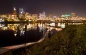 View of Portland, Oregon Cityscape — Stock Photo