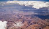 Bird's Eye Image of Grand Canyon. — Stock Photo
