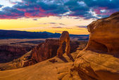 Panorama of Arches National Park — Stock Photo