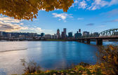 Portland, Oregon Waterfront — Stock Photo