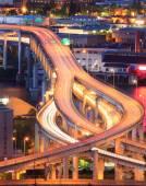Interstate 5 during rush hour — Stock Photo