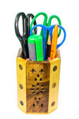 School and office supplies tools — Foto Stock
