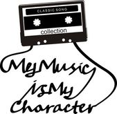 Typography music electronic — Stock Vector