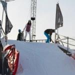 Gorky Park snowboarding — Stock Photo #63327305