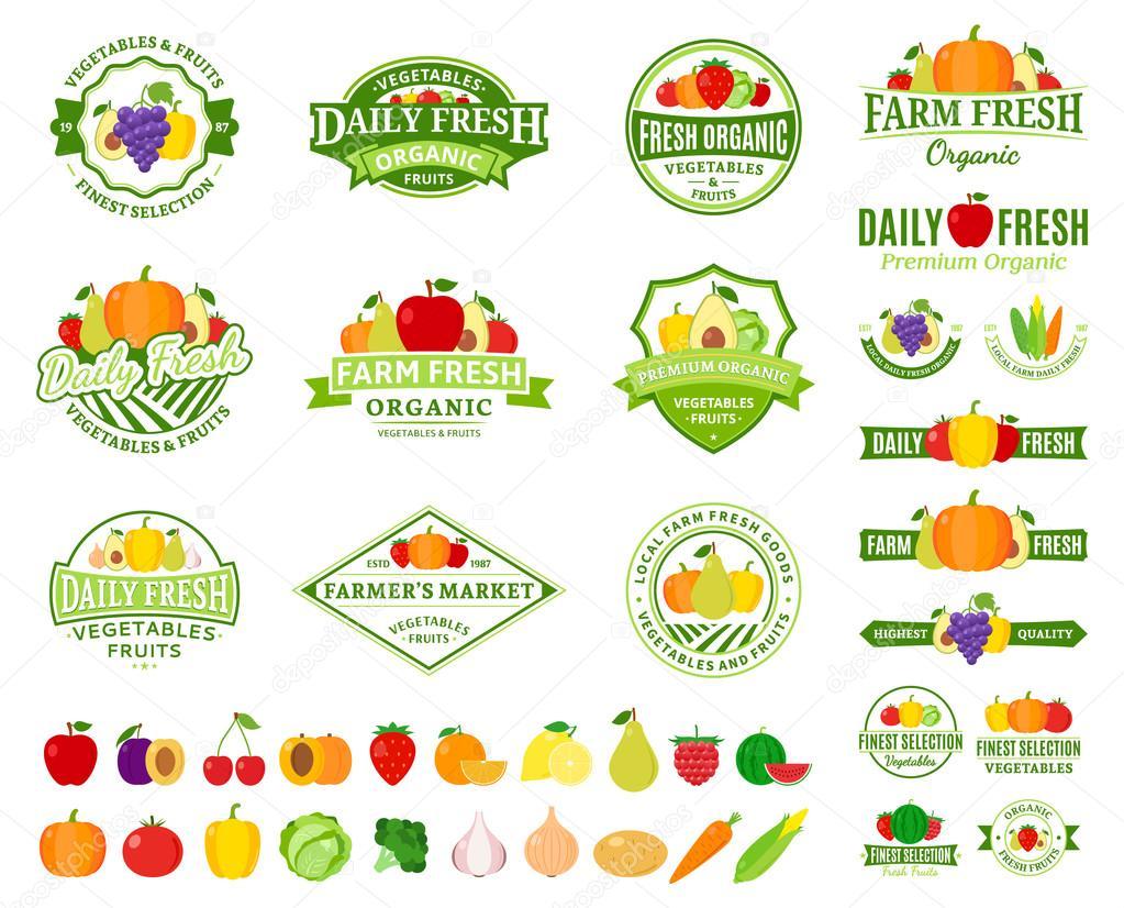 образцы этикеток на овощи
