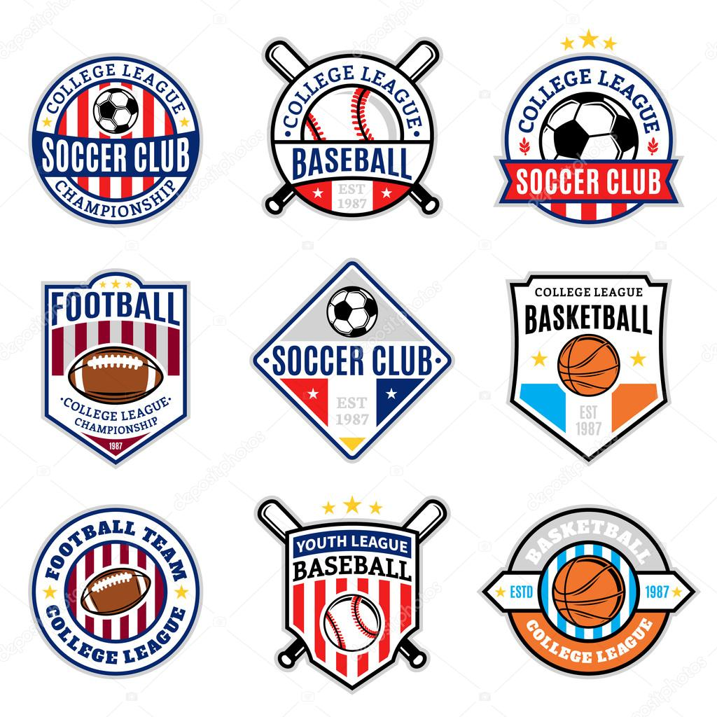 Sport team logo soccer