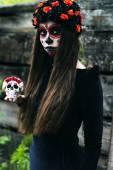 Sugar skull — Stock Photo