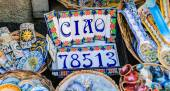 Greetings from Sicily — Fotografia Stock