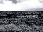 Rushing sea — Stock Photo