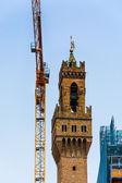 Florence on Restoration — Stock Photo